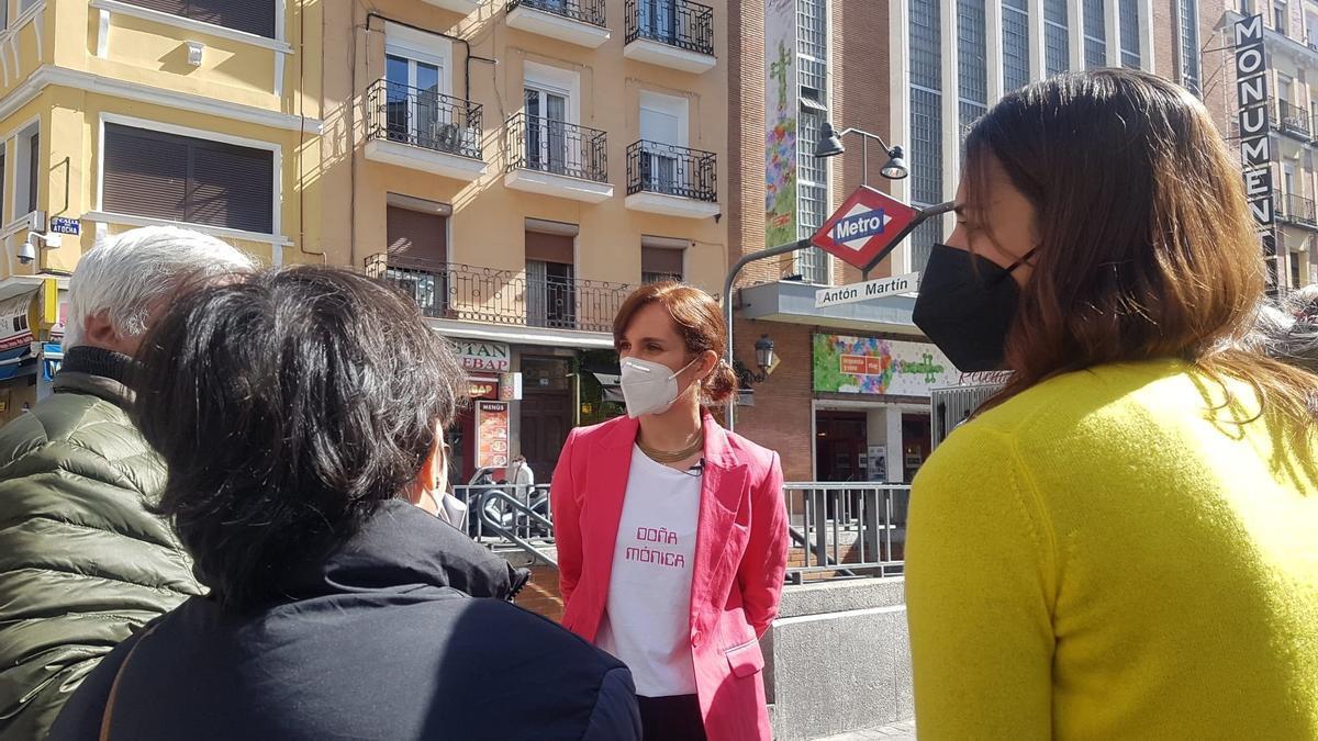 """La candidata de Más Madrid se compromete a que la ciudad deje de ser Magaluf con el """"turismo de borrachera promocionado por Ayuso"""""""