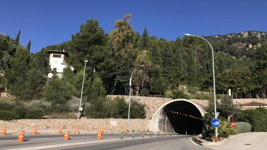 Reabierto el túnel de Sóller tras un accidente