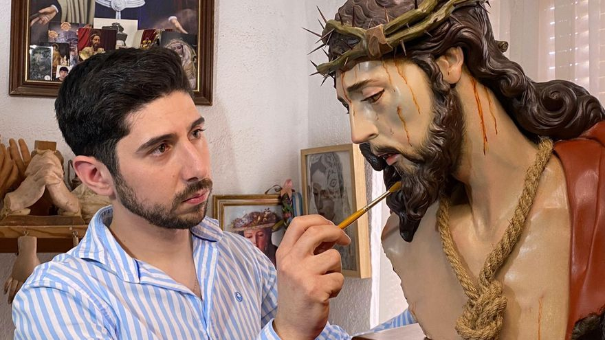 La Dolorosa del imaginero palmeño Javier Cumplido González logra el 2º premio en un concurso nacional