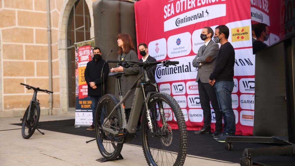 Girona acollirà una prova de la Copa del Món de bicicletes elèctriques per la Sea Otter Europe
