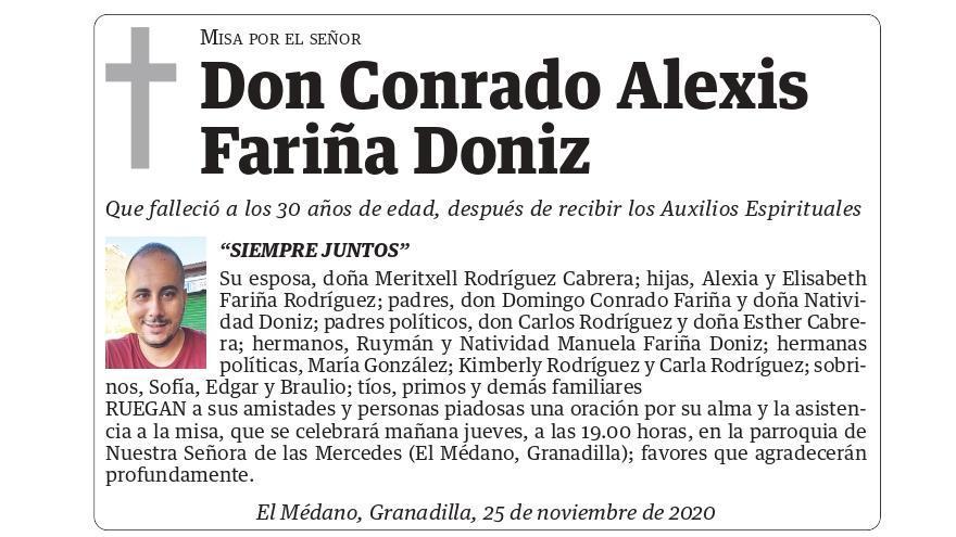 Conrado Alexis Fariña Doniz