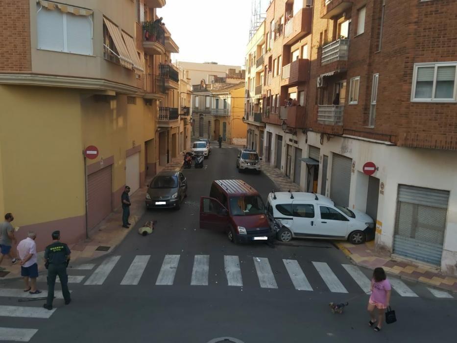 Espectacular persecución policial en las calles de Cullera