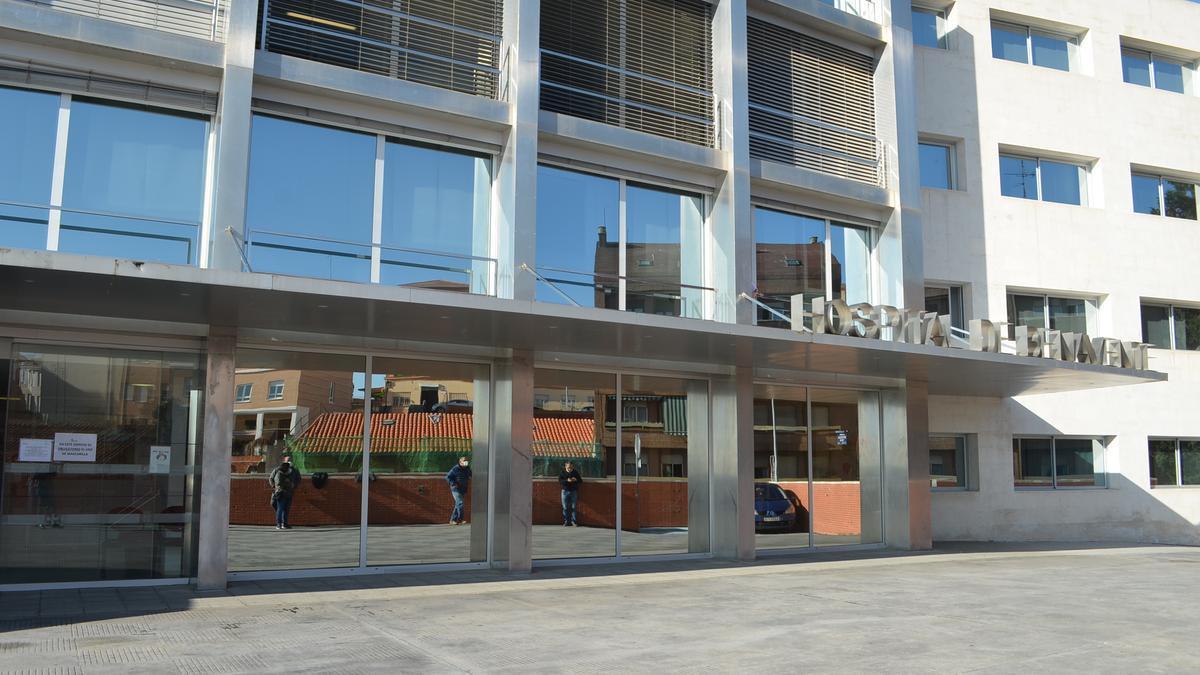 Acceso al Hospital de Benavente. / E. P.