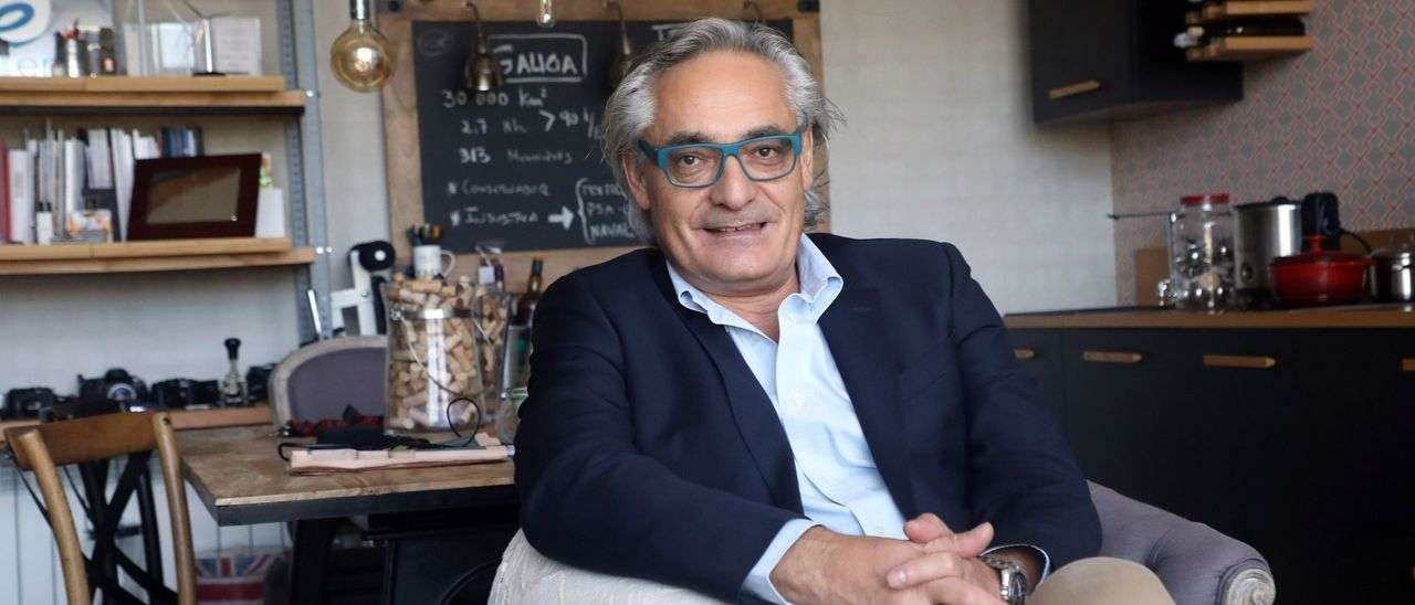 El presidente de EGA, Manel Pazo. // Xoán Álvarez