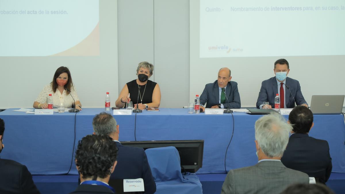 Asamblea General de UMIVALE, celebrada el pasado 23 de julio.
