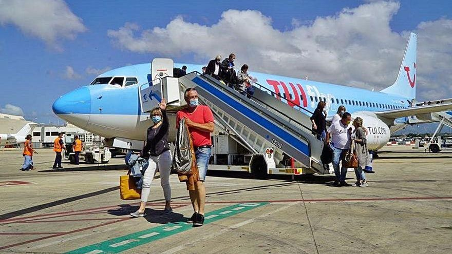 Baleares recibe los primeros turistas extranjeros