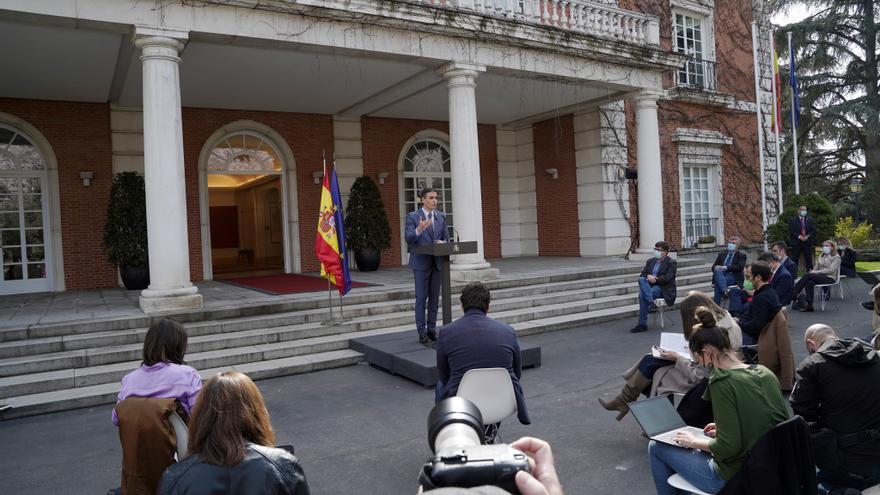 """Sánchez sobre las """"conductas incívicas"""" del rey emérito: """"Siento el mismo rechazo que la mayoría de la ciudadanía española"""""""