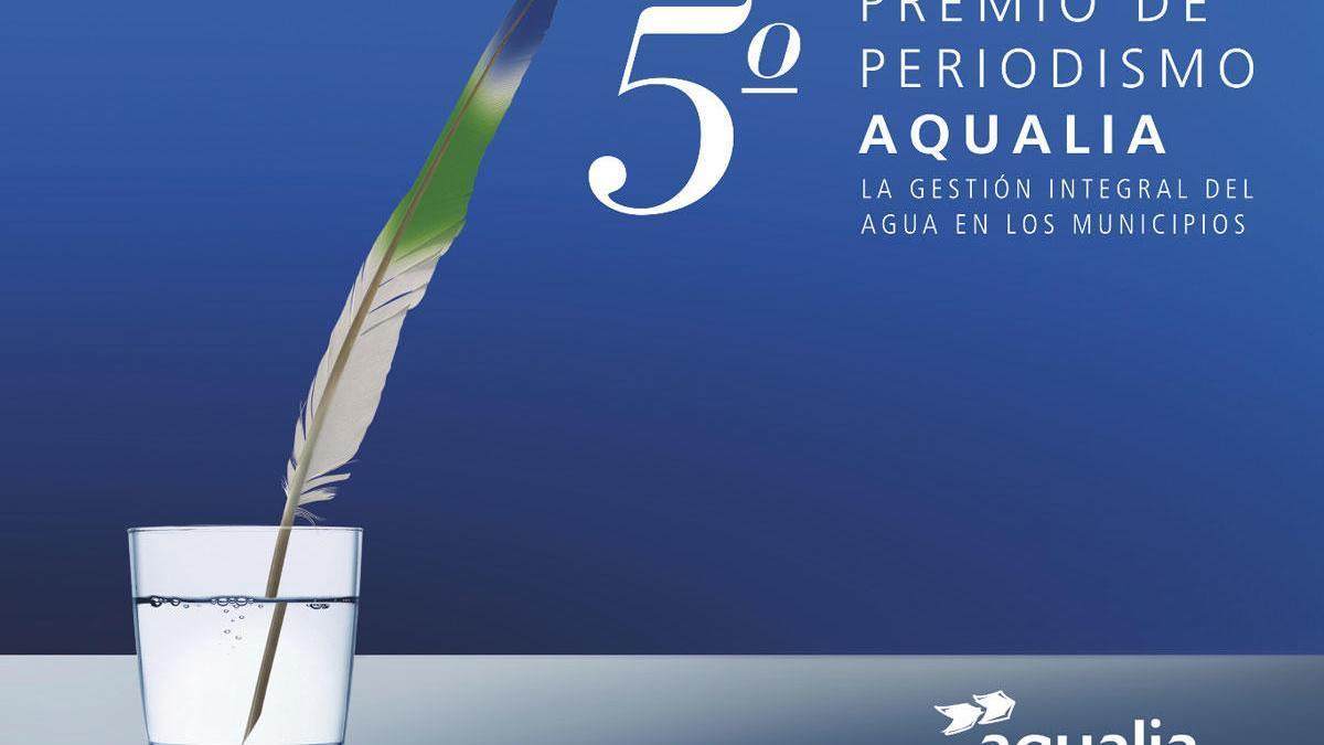 Aqualia convoca la quinta edición de su Premio de Periodismo.