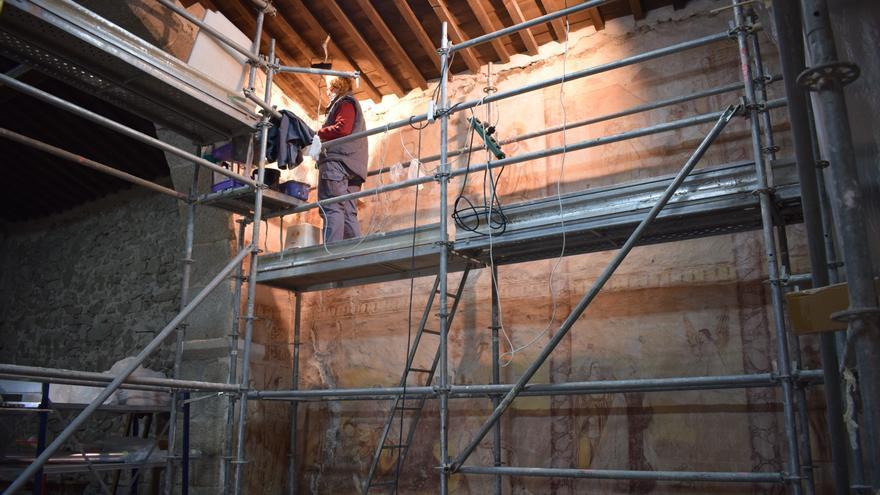 Adjudicada la restauración de las pinturas en la ermita de Muga de Sayago