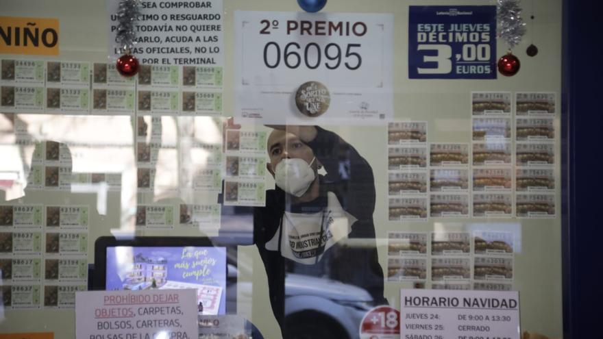 El 06.095, segundo premio de la Lotería de Navidad, reparte 1.250.000 euros en Palma