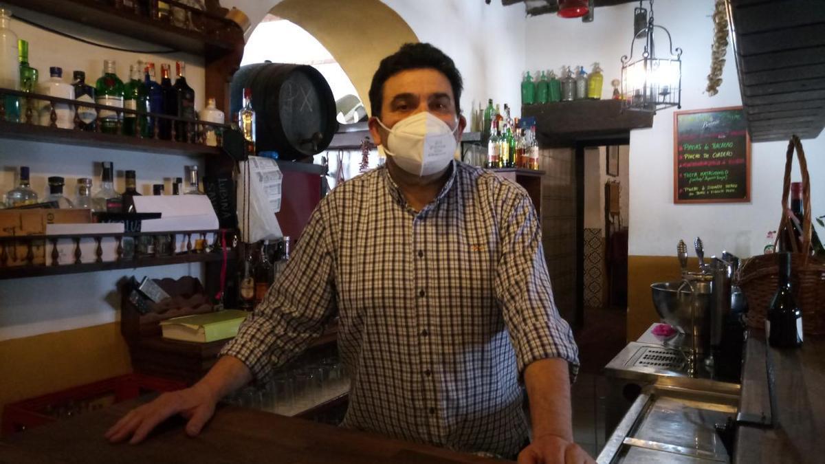 Federico Losada, restaurante Peña Flamenca El Primo.