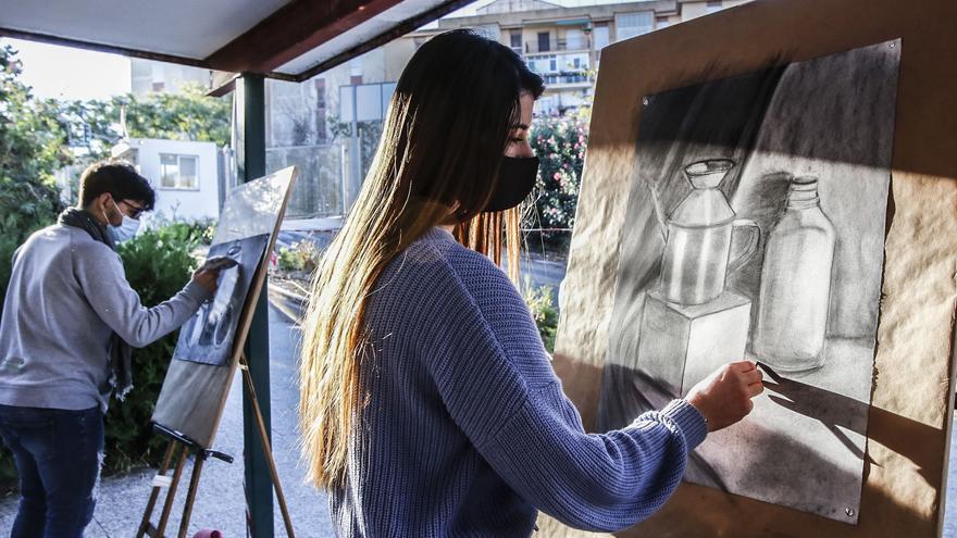 Música y Arte al aire libre en Alicante frente al covid