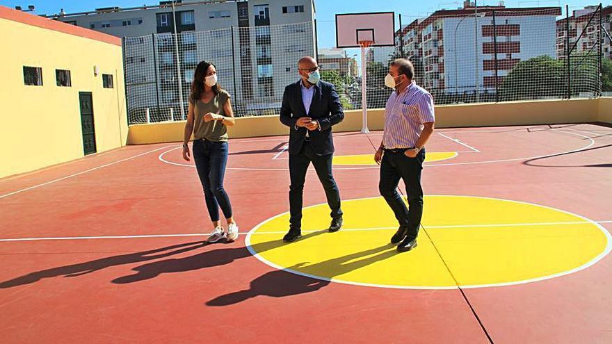 El IMD finaliza la renovación integral de la cancha deportiva de Las Torres