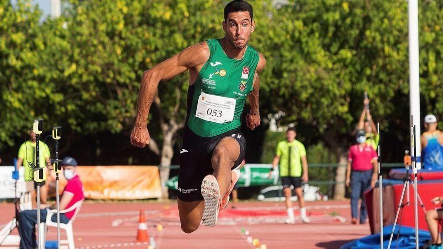 Pablo Torrijos vence en Italia con un mejor intento de 16,86 metros