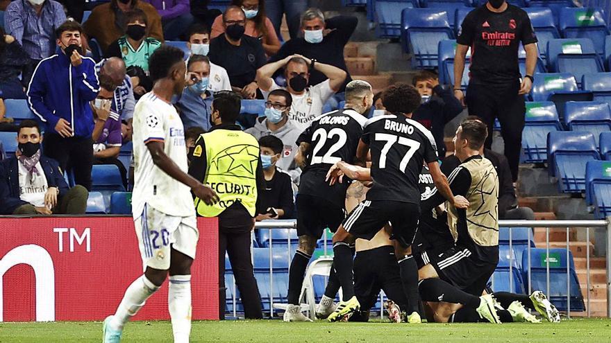 Batacazo inesperado en el Bernabéu