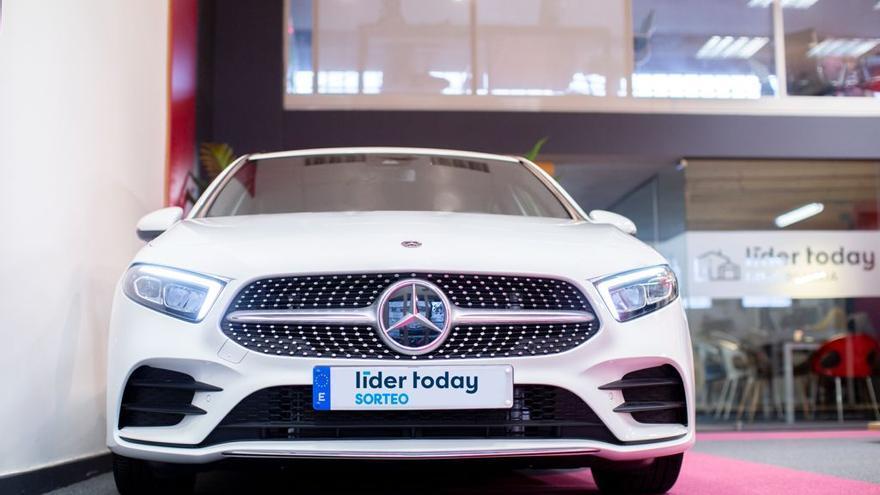 Consigue un Mercedes Clase A por cinco euros