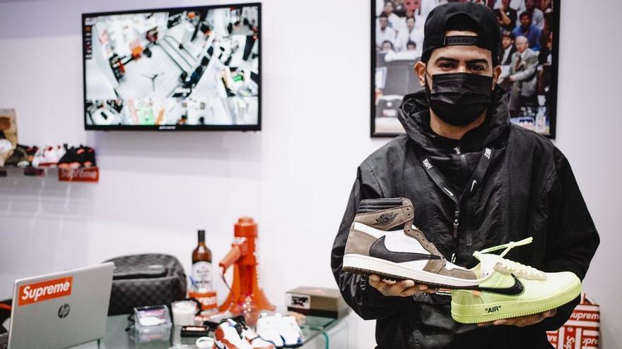 """""""Vivo de especular con zapatillas Nike"""": llega a España la fiebre de la reventa de deportivas"""