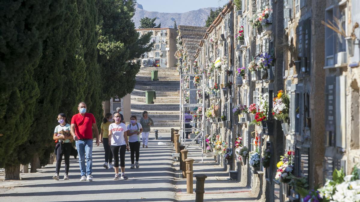 Cementerio de Alicante, en imagen de archivo