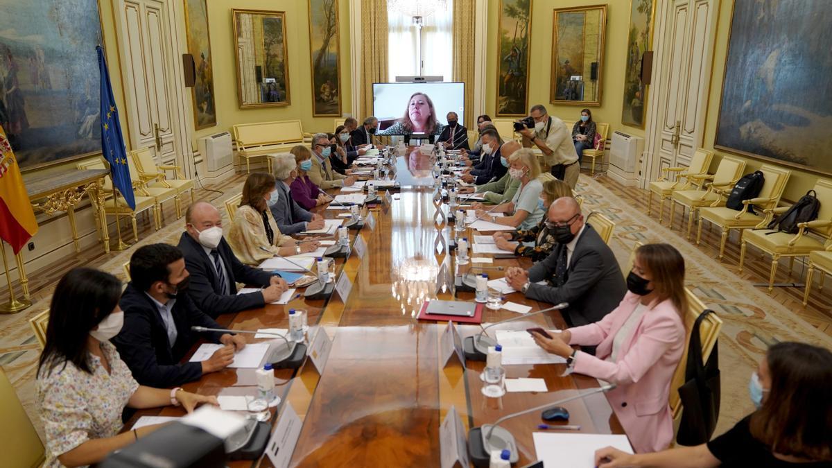 Mesa sectorial de Educación.