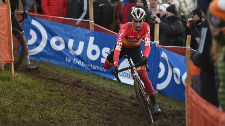 Felipe Orts prepara el Mundial de Dubendorf 2020 en Zonnebeke y Hoogerheide
