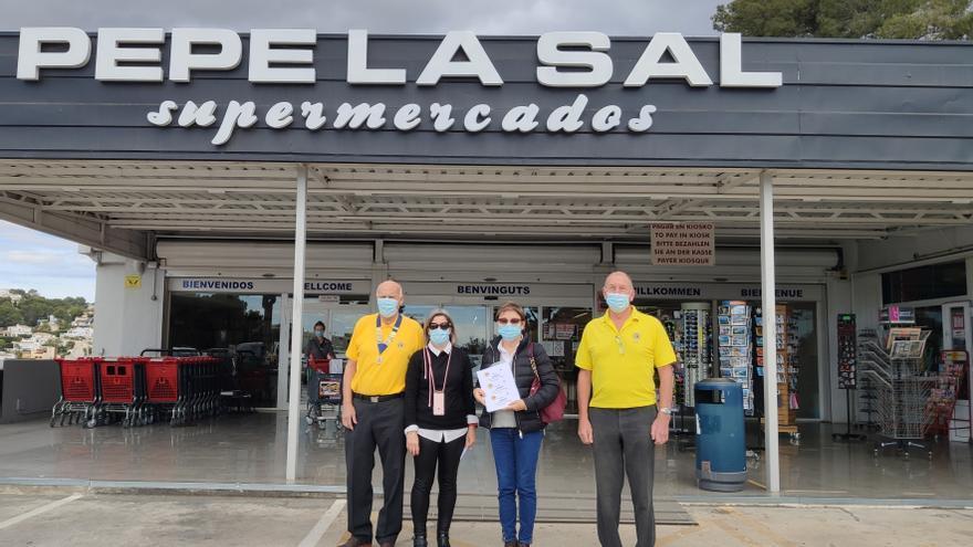 Dos mil euros en vales de compra para las familias vulnerables de Benitatxell