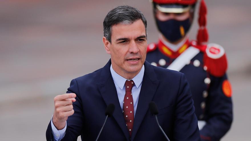 """Sánchez sobre la carta de Junqueras: """"Cualquier paso a favor de la distensión es bienvenido"""""""