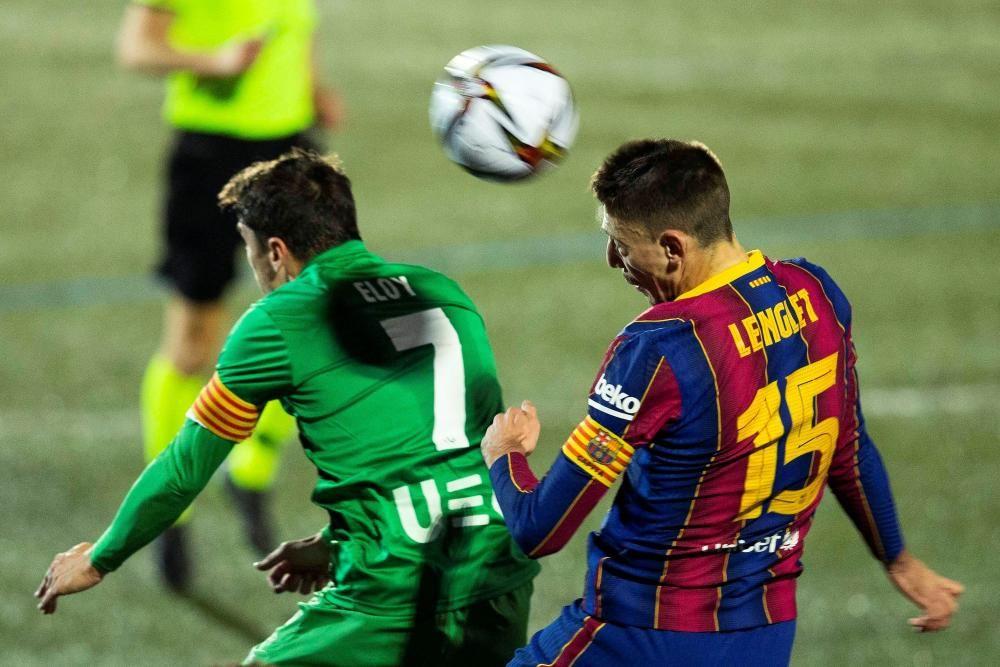 Copa del Rey: Cornellà - FC Barcelona.