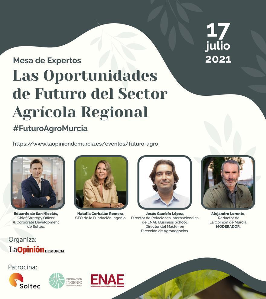 Las oportunidades del futuro del sector agro en la Región de Murcia