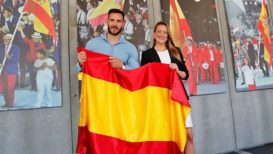 Mireia Belmonte y Saúl Craviotto serán los abandenardos españoles en Tokio