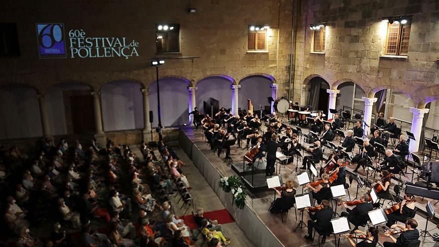 Recital de la Simfònica en el claustro de Sant Domingo