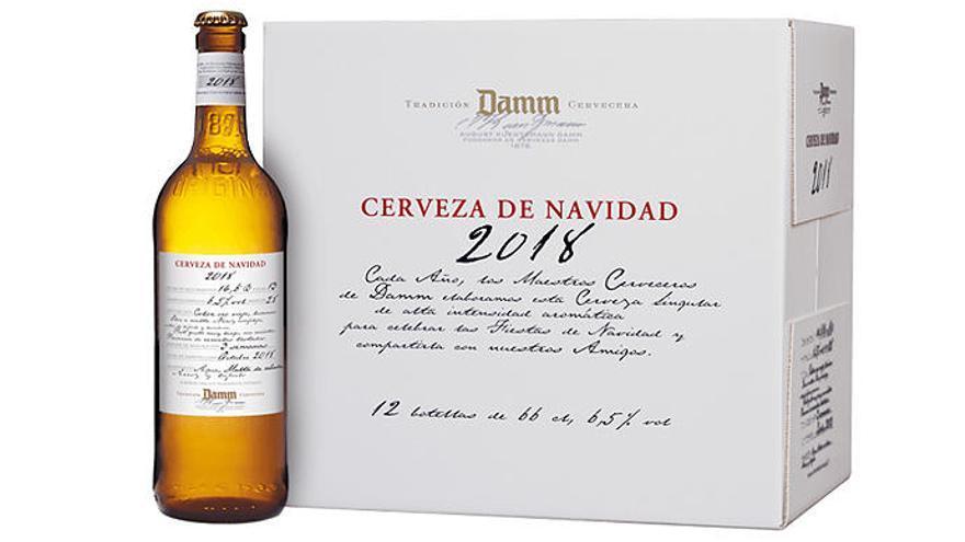 Cerveza para brindar estas navidades