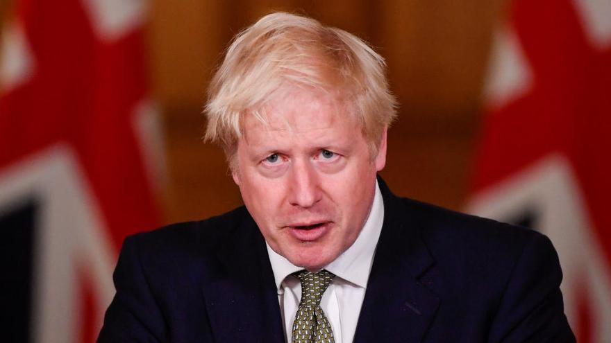 Boris Johnson admite que el Reino Unido se encamina hacia un Brexit sin acuerdo