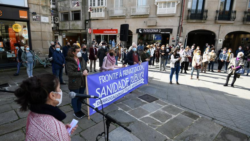 Pontevedra se moviliza en defensa de la sanidad pública