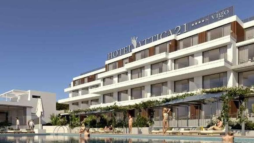 El Concello de Vigo adjudica al empresario Manuel Jove el hotel Samil por 2,6 millones