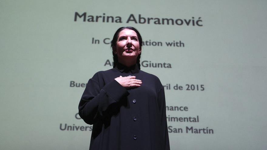 """Marina Abramovic: """"Estoy conmovida y honrada con el premio Princesa de Asturias"""""""