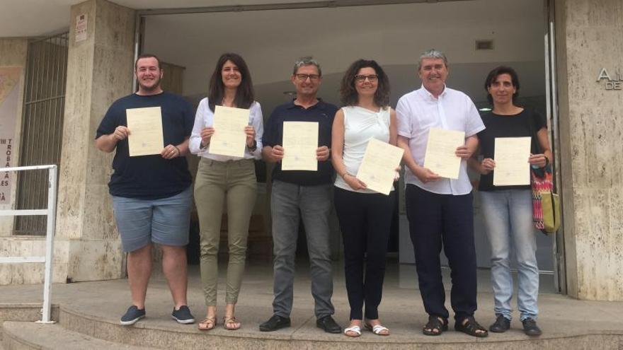 Compromís per Paiporta  presenta a sus ediles con Gadea en Bienestar Social
