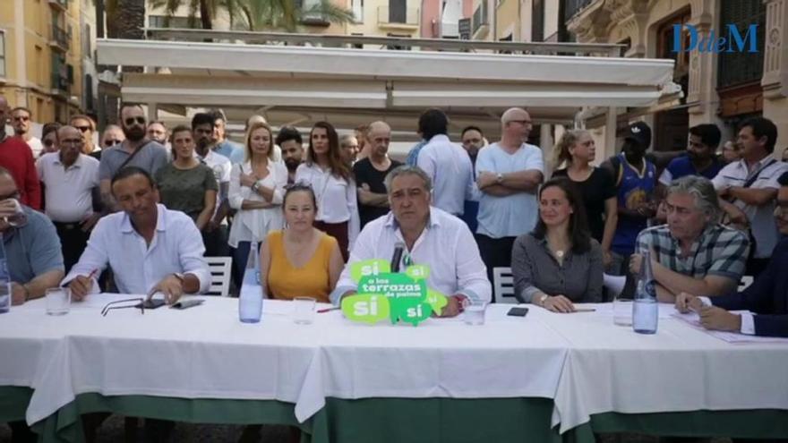 Kampf um die Außenbewirtung in Palma de Mallorca geht weiter