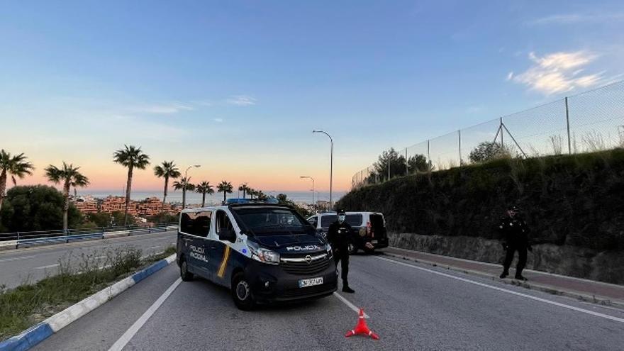 Detenido un fugitivo francés tras darse a la fuga en un control policial en Marbella