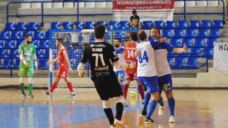 El Nítida Alzira empata a seis en un trepidante partido ante el Talavera