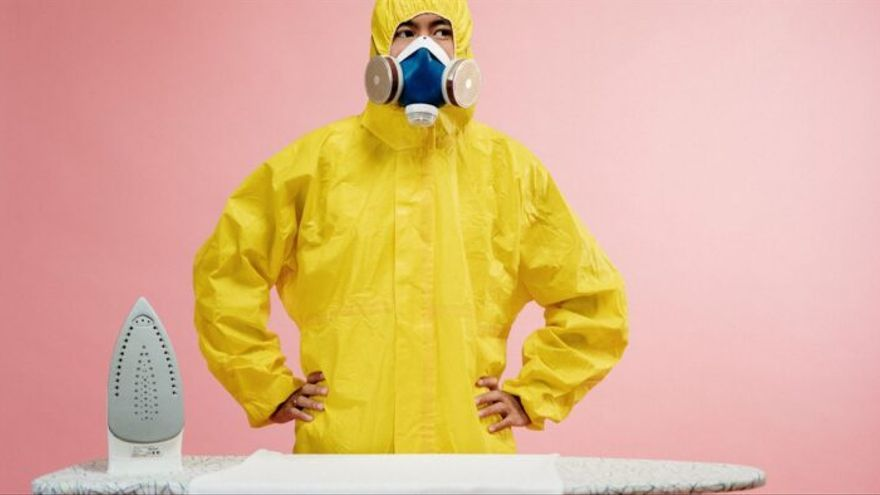 ¿Planchar la ropa elimina el coronavirus y todavía puede salvar vidas?