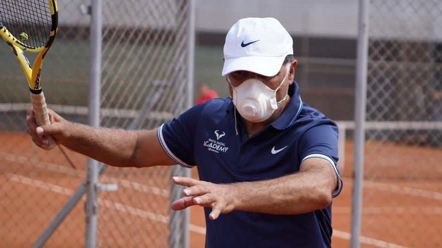 """Toni Nadal: """"Rafa al menos tiene tres o cuatro años más para competir a alto nivel"""""""