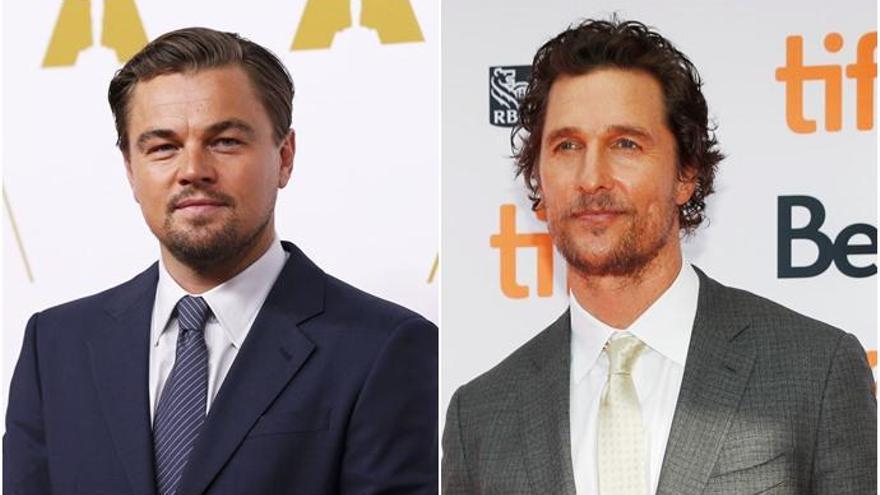 Matthew McConaughey casi le quita el papel a Leonardo DiCaprio en 'Titanic'