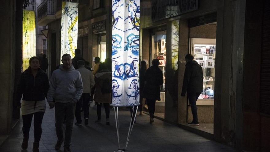Els Jardins de Llum consoliden Manresa com una ciutat capdavantera de l'art efímer