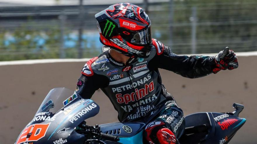 Segunda victoria, inapelable, de Fabio Quartararo en el Gran Premio de Andalucía