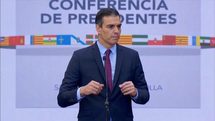 """Sánchez ve en la Conferencia un """"punto de apoyo"""""""
