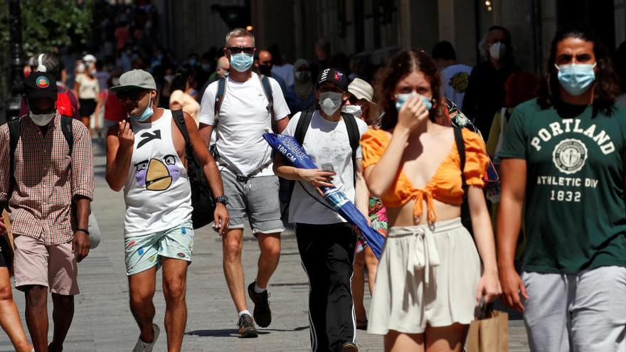 Países Bajos desaconseja los viajes a Barcelona