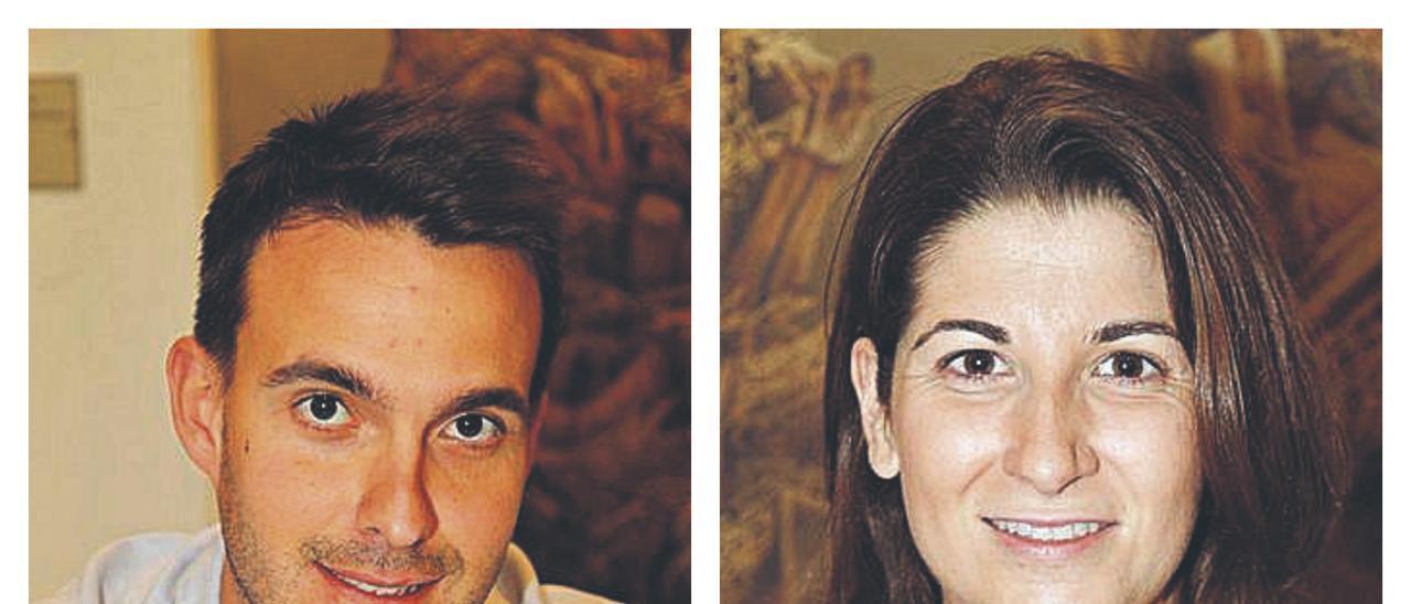 Miguel Vidal y Clara Aledón.