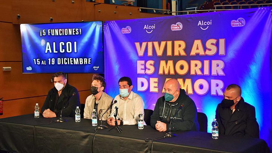 Alcoy acogerá en diciembre el estreno del musical dedicado a Camilo Sesto
