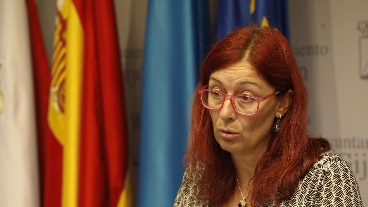 Estefanía Puente, candidata a presidir Podemos Gijón.