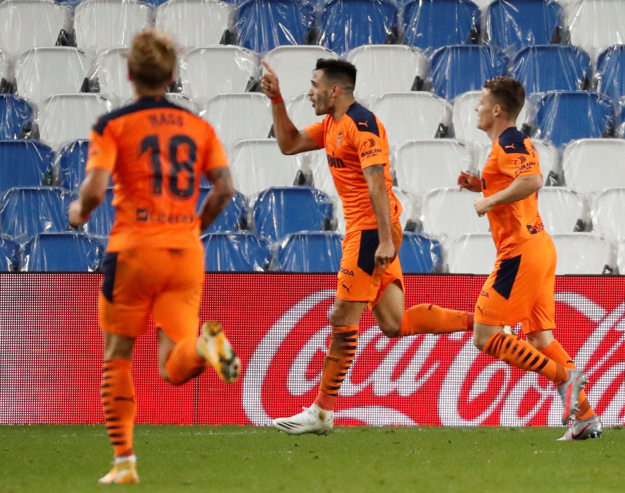 Galería Real Sociedad - Valencia C. F. 29/09/2020